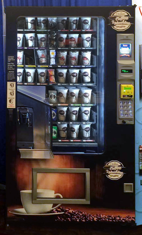 Ultimate Coffee Machine Vending